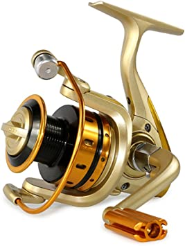 newdoar Spinning Carrete de pesca 1000 – 7000 Ultra suave giro ...