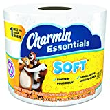 Charmin 97184 Essentials Soft Bathroom Tissue, 2-Ply, 4″ width, 3.92″ Length, Pack of 9900 , 4″ width (Pack of 9900)