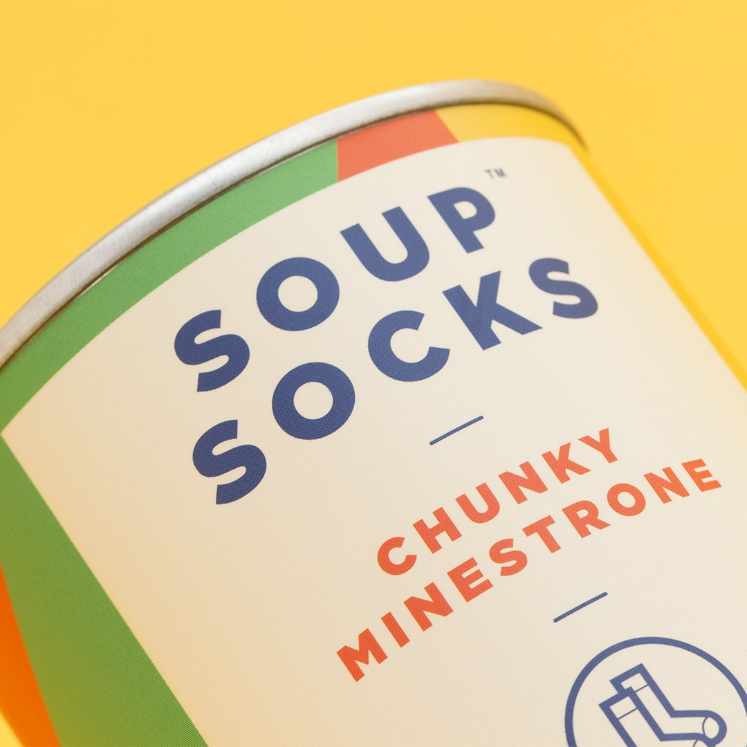 72cfa78ade7 Amazon.com  Luckies of London Minestrone Soup Socks Red  Home   Kitchen