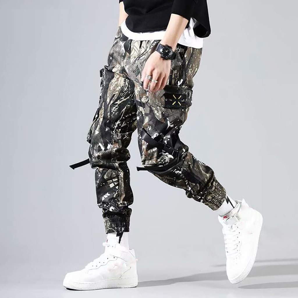 Bsjmlxg Mens Summer Fashion Overalls Casual Comfortable Trousers