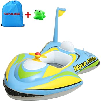 Baby Swimming Float Boat Inflatable Car Seat Safety Swimmer Circle For Toddler Child Infant VGEBY Christmas Gift Ideas