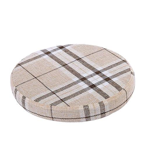 QIAOTT Impresión Digital Comfort Foam Throw Pillow,Taburete ...