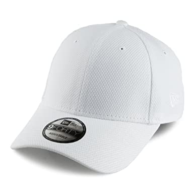 4e1029fa407 New Era 9FORTY Diamond Era Essential Baseball Cap - White Adjustable ...