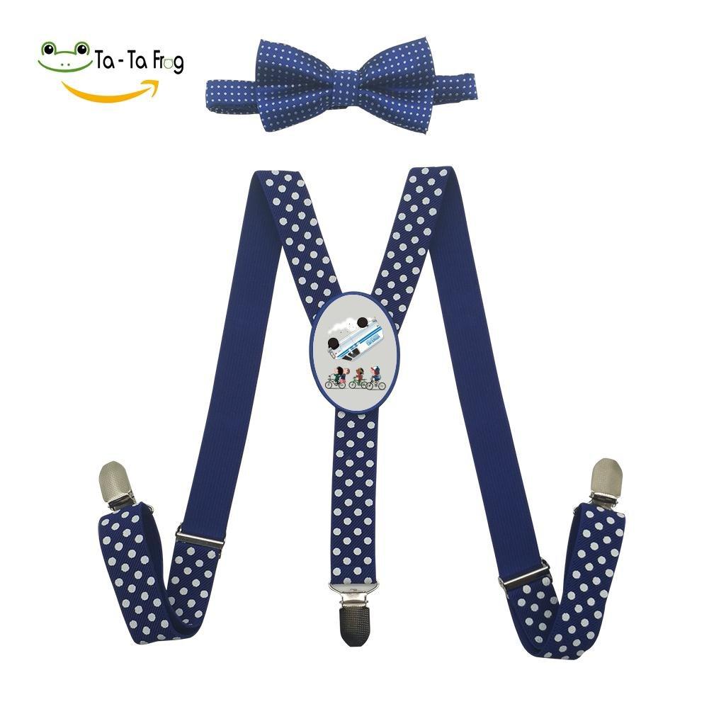 Grrry Kids Stranger Travel Adjustable Y-Back Suspender+Bow Tie