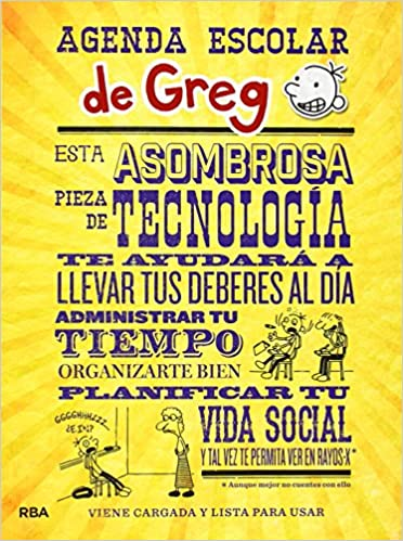Agenda escolar de Greg (DIARIO DE GREG): Amazon.es: Jeff ...