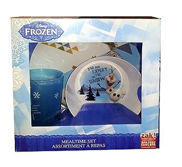 Disney Frozen Olaf \u0026 Sven Mealtime Set - Plate Bowl \u0026 Tumbler  sc 1 st  Amazon.com & Amazon.com : Disney Frozen Olaf \u0026 Sven Mealtime Set - Plate Bowl ...