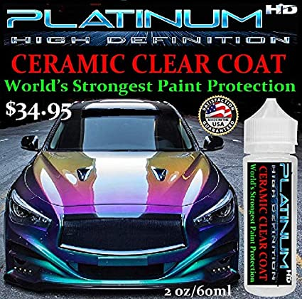 Amazon Com Xtreme Nano 9h Car Ceramic Clear Coat Platinum Hd