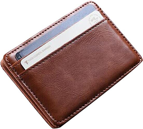 Herren Geldbörse Geldbeutel Börse Portemonnaie Leder braun