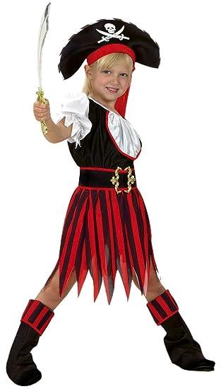 Disfraz de Pirata para niña de 7 a 9 años