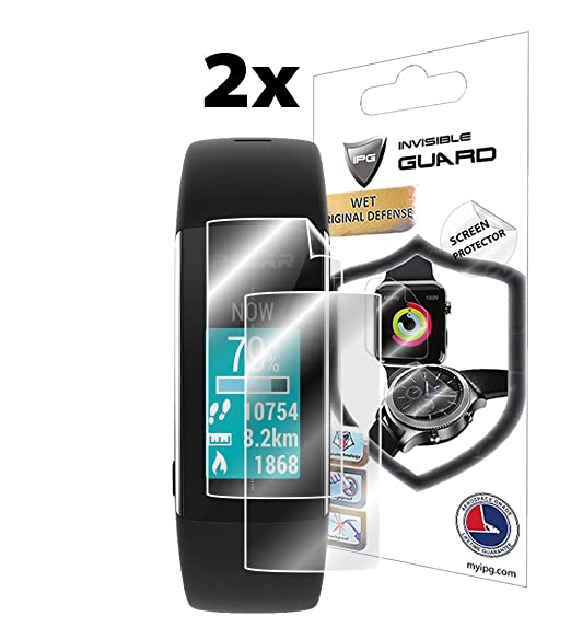 IPG for Polar A360-A370 Fitness Tracker Watch Screen Protector (2 Units) Invisible