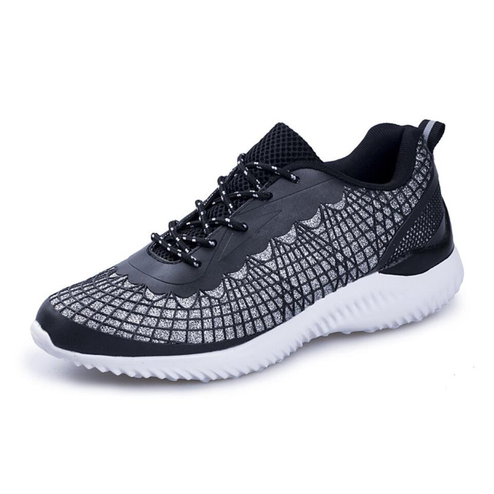 XUEXUE Men's Athletic Shoes,knit,spring Fall,Breathable Low-Top Sneakers,Non-slip Travel,Comfort Running Shoes,Lightweight Walking Shoes, Offic,Light Soles (Color : A, Size : 39)