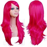 Anogol Hair Cap+My Little Pony Wig Party Cosplay Costume Wigs