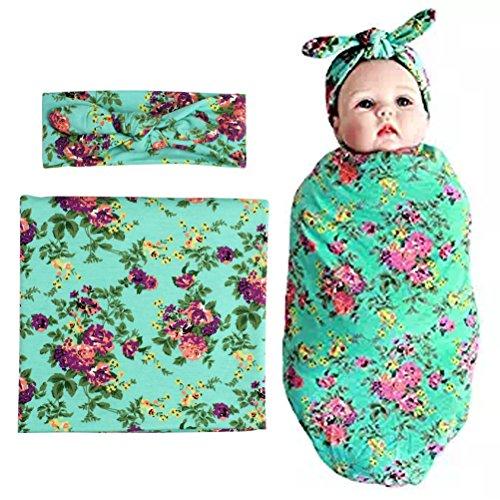 habibee Newborn Headband Receiving Blankets product image