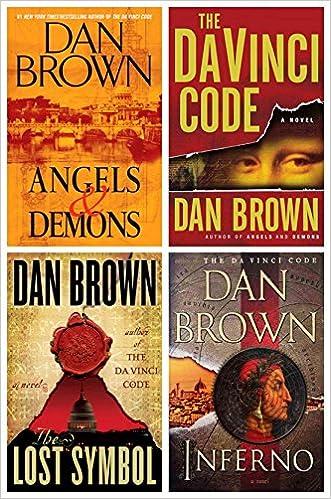 Dan Browns Robert Langdon Tetralogy Hardcover Set Angels Demons