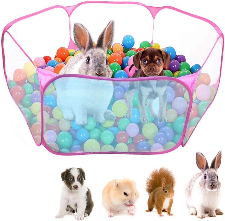 Dokpav Tienda de Jaula Plegable para Animales pequeños 47.2