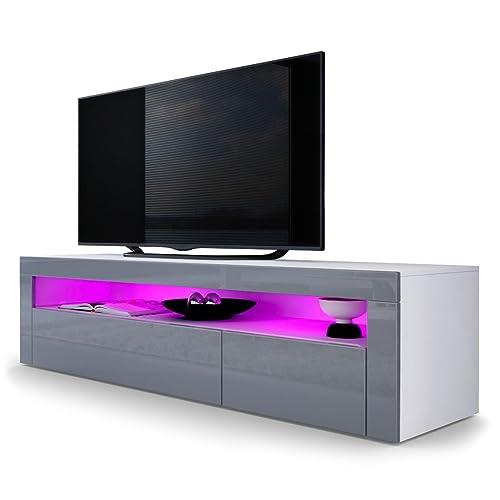 grey tv stand. Black Bedroom Furniture Sets. Home Design Ideas
