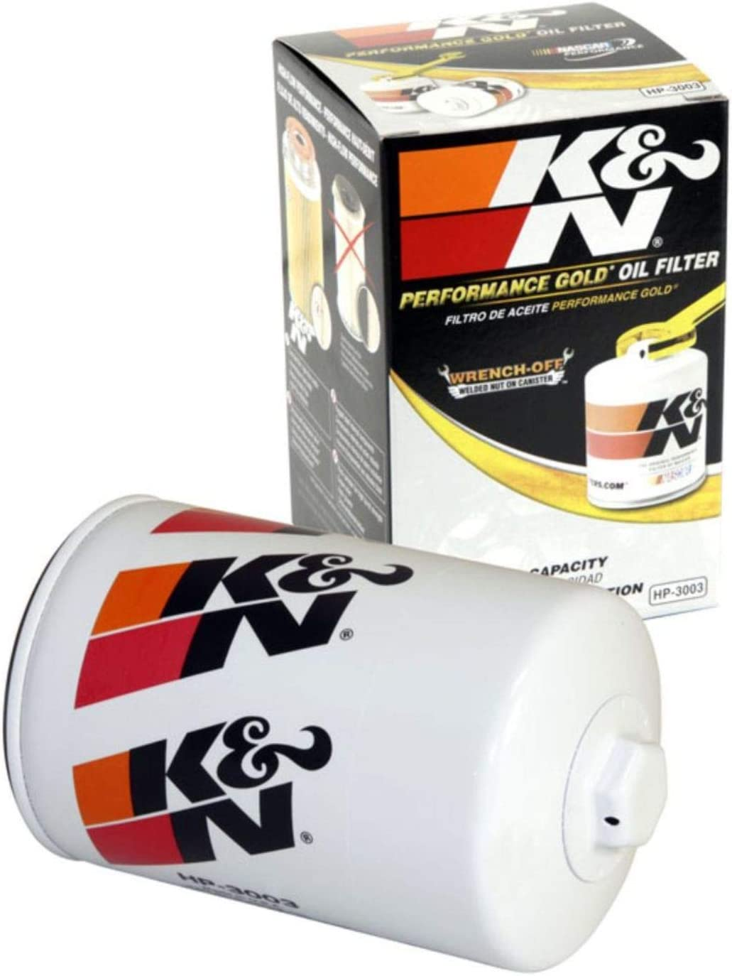 K&N Premium Oil Filter: Designed to Protect your Engine: Fits Select 2001-2019 CHEVROLET/GMC/HUMMER (Silverado, Express, Kodiak, 2500, 3500, 4500, 5500, 6500, Sierra, Savana, Topkick, H1), HP-3003