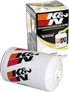 K&N Premium Oil Filter: Designed to Protect your Engine: Fits Select 2001-2019 CHEVROLET/GMC/HUMMER (Silverado, Express, Kodiak, 2500, 3500, 4500, 5500, 6500, Sierra, Savana, Topkick, H1), HP-3003