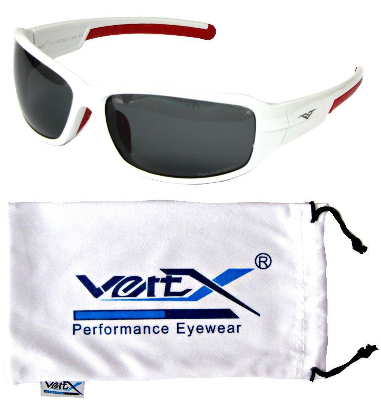 VertXmasculinepolarisésdes lunettes desoleilSporten cours d'exécutionen plein air.–Cadre noir mat - Fuméedelentille pnmEt42HnP