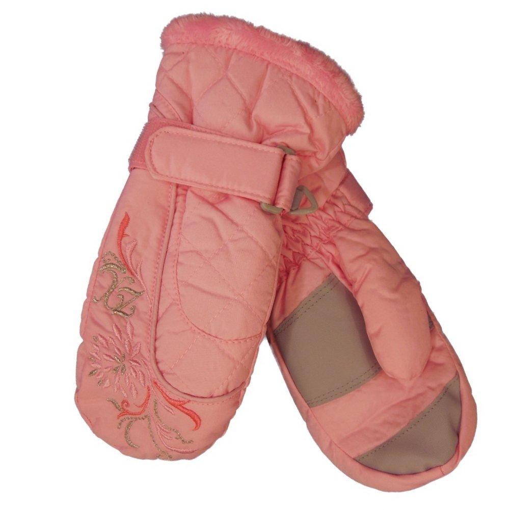 Zero Xposur Girls Pink Water Resistant Performance Snow /& Ski Mittens