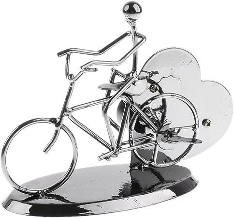 MagiDeal Caja de Música Modelo de Ejecutante en Bicicleta de Cuerda Mecanismo Decoración de Casa: Amazon.es: Hogar