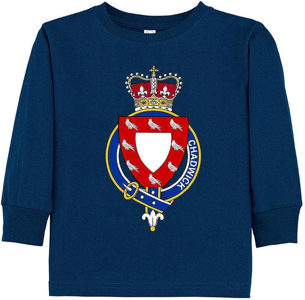 Tenacitee Toddlers English Garter Family Chadwick Long Sleeve T-Shirt