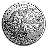 #8: 2018 UK Great Britain 1 oz Silver Year of the Dog BU 1 OZ Brilliant Uncirculated