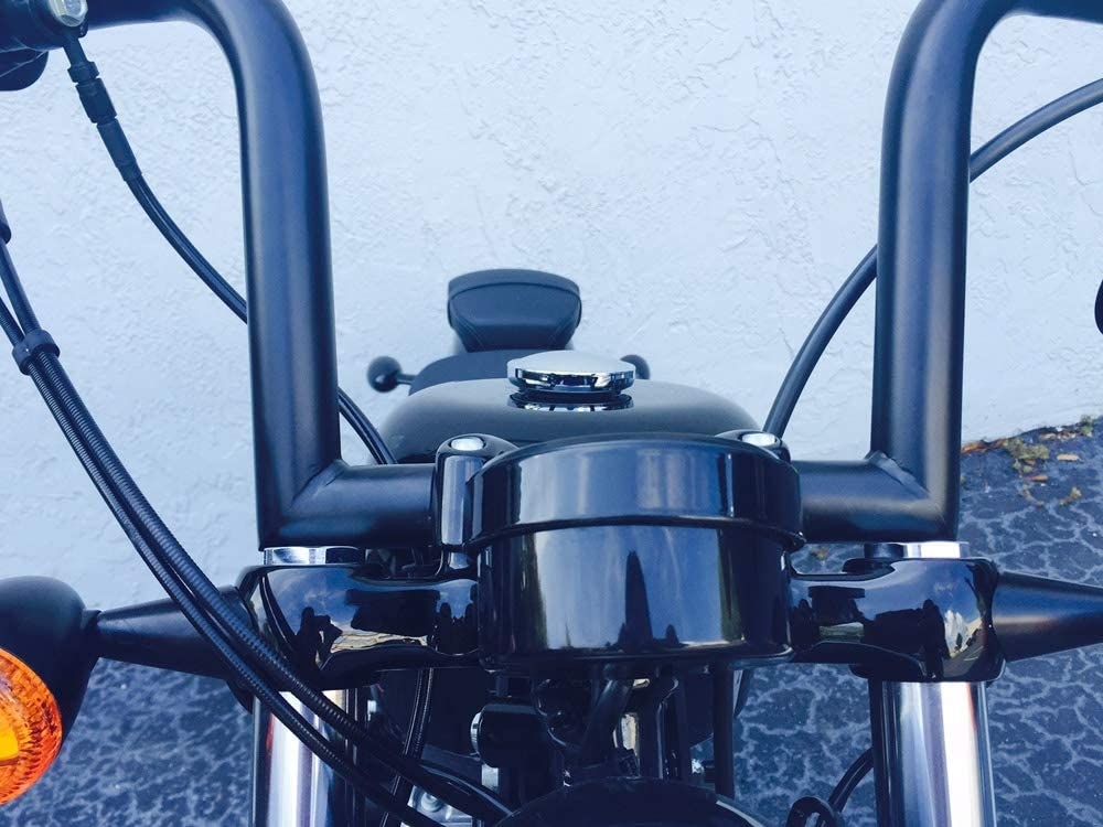 DEMONS CYCLE Chrome 14 Rise Ape HangersFrisco Chubbys 1-1//4 Handlebars Harley Sportster Dyna FXR