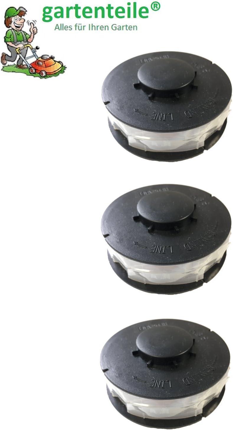 TCR 450/TCR 451/TCR 500 6/bobines Convient pour Aldi Coupe-bordures /électrique Top Craft Coupe-bordures /électrique Topcraft TCR 50