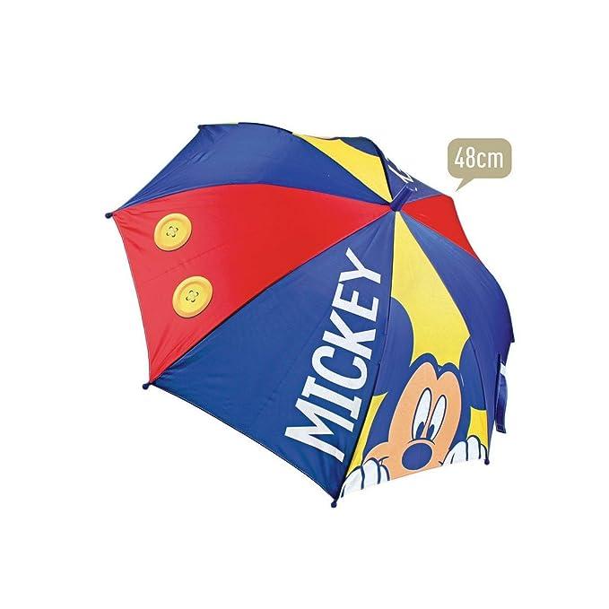 Paraguas Mickey Disney Premium automatico 48cm: Amazon.es: Juguetes ...