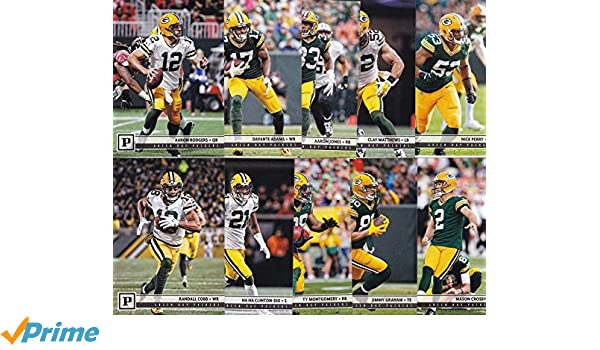Green Bay Packers 2018 Panini Factory Sealed NFL Football Complete Mint 14 Card  Team Set with ... 40276e1f1