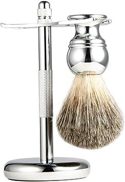 Cepillo De Barba Brocha De Afeitar Maquinilla De Afeitar Manual ...