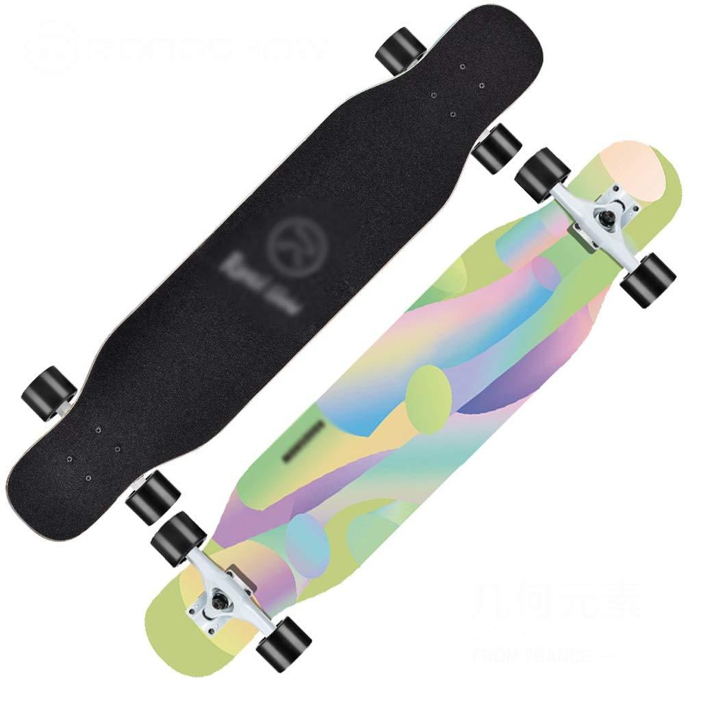 100 %品質保証 DUWEN スケートボードロングボード初心者大人の男の子と女の子のブラシストリートダンスボードティーンエイジャー四輪スクーター (色 : C) (色 C) B07NRNGBB6 : E E, オウジチョウ:f3f92c36 --- a0267596.xsph.ru