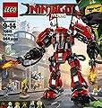 LEGO Ninjago Fire Mech 70615 Building Kit (944 Piece) by LEGO