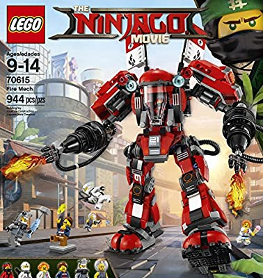 LEGO Ninjago Fire Mech 70615 Building Kit (944 Piece) by LEGO