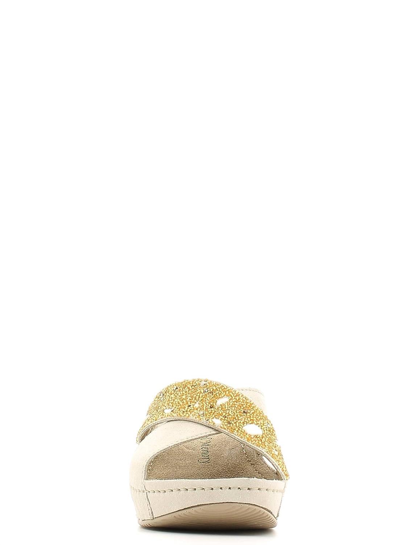 GRUNLAND PRAY - Zapatillas de estar por casa para para para mujer Beige Sabbia 32dc87