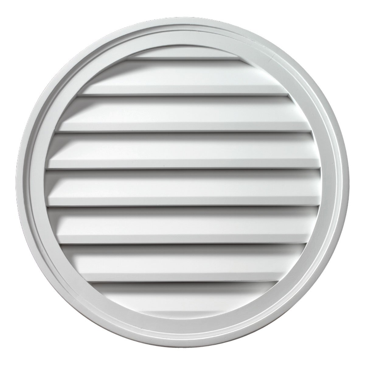 Fypon FRLV36 36''W x 36''H Round Functional Louver