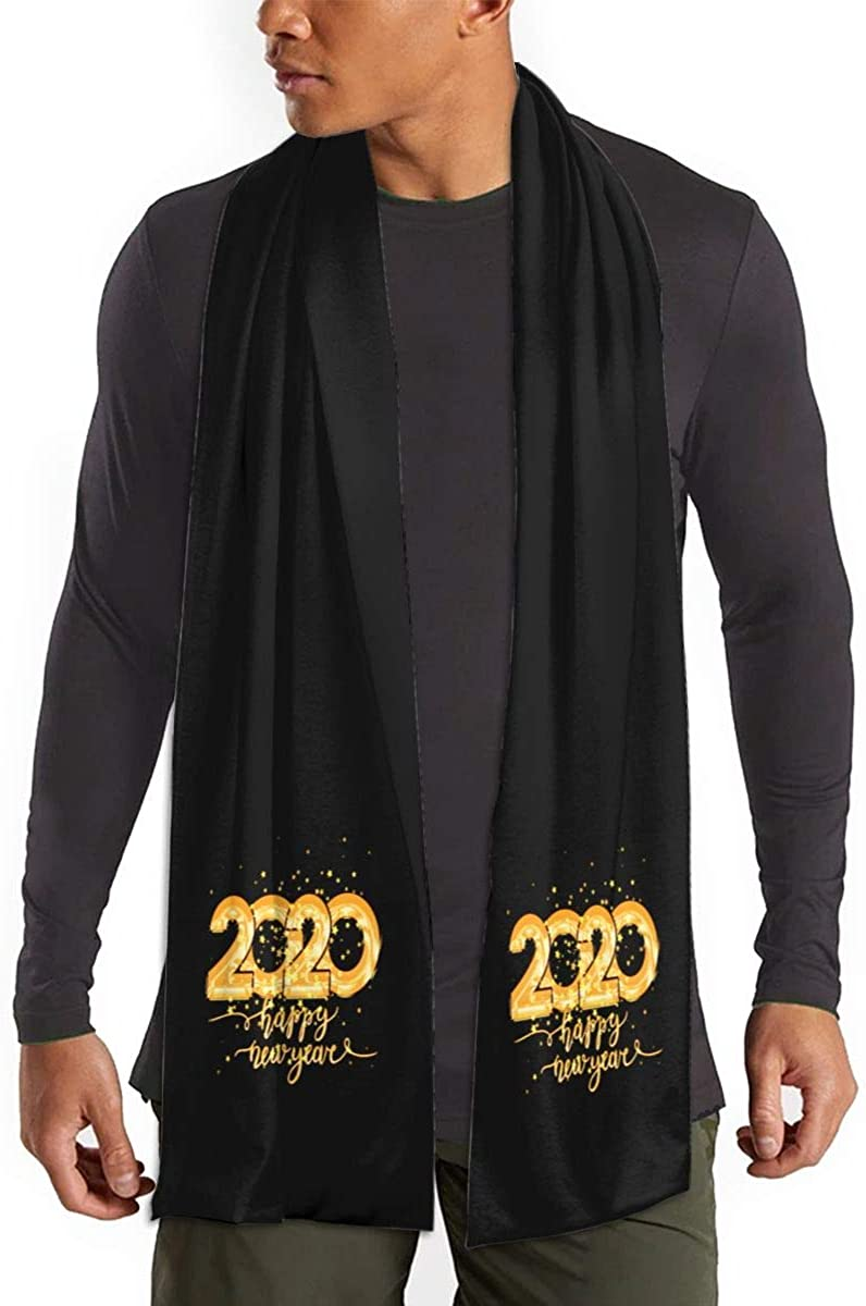 Happy New Year 2020 Winter Scarf Fashion Formal Soft Scarves For Men And Women