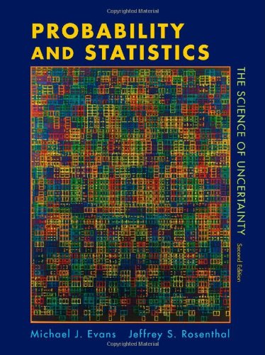 [PDF] Probability and Statistics: The Science of Uncertainty, 2nd Edition Free Download | Publisher : W. H. Freeman | Category : Computers & Internet | ISBN 10 : 1429224622 | ISBN 13 : 9781429224628