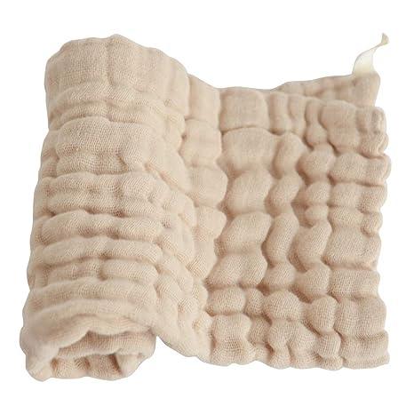 Zerama Suave Gasa de algodón sólido del bebé pañuelo de los niños ...