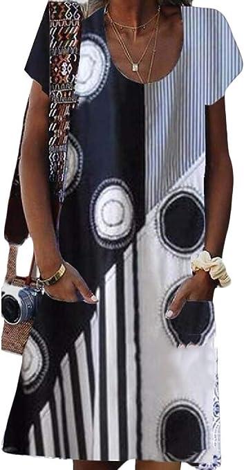 Jofemuho Men Patchwork Plus Size Short-Sleeve Cotton Color Blocked Casual Dress Work Shirt
