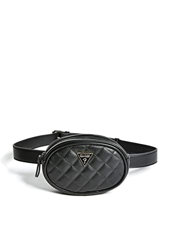 Amazon.com  GUESS Factory Women s Quilted Belt Bag  GUESS Factory