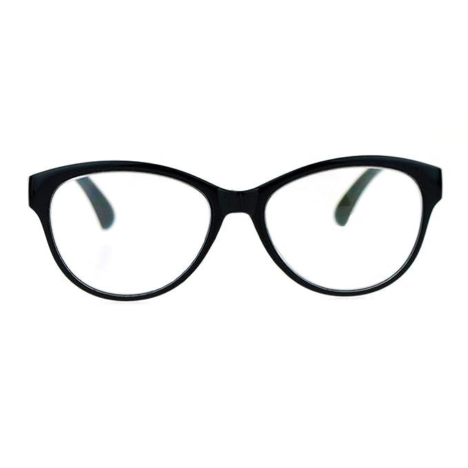 Amazon.com: Gafas de lectura progresivas SA106 Cat Eye Multi ...
