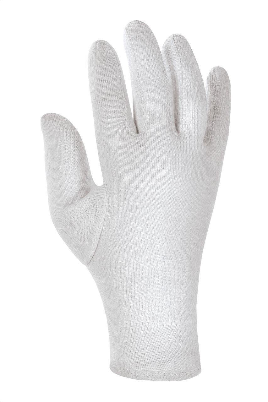 300 Paar - Baumwolltrikot-Handschuhe mit Schichtel mittelschwer - teXXor® - 1560 - Größe 13