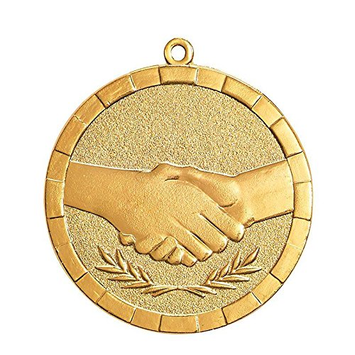 MEDAILLE FAIR PLAY 50MM - Lot de 10 exemplaires Trophée Sportif
