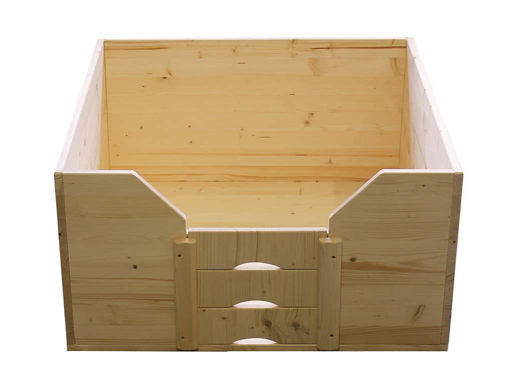 Easy-Hopper Wurfbox / Welpenbox / Schlafplatz Standard 80x80cm