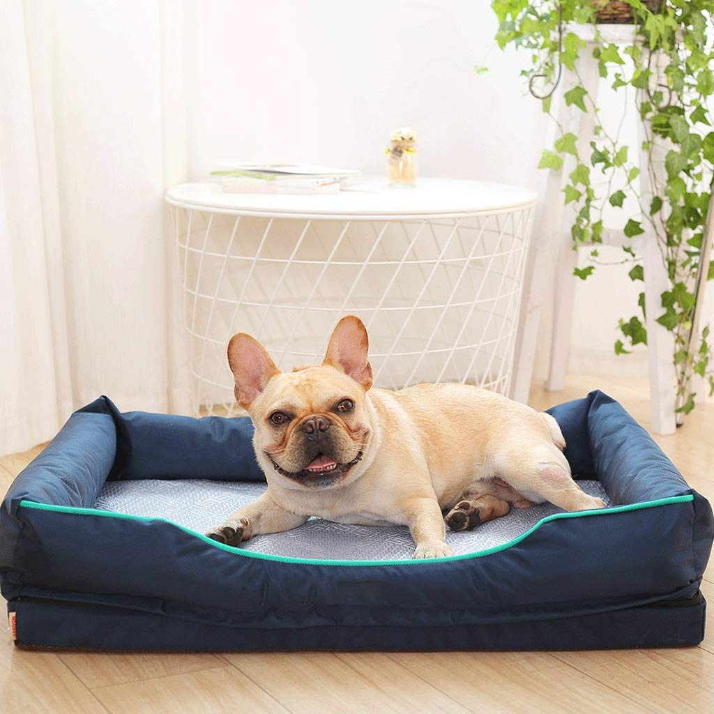 E L E L JM- Medium Dog Bed Orthopedic Dog Bed With Removable Washable Cover Warm Dog Bed For Small To Medium Dogs (color   E, Size   L)