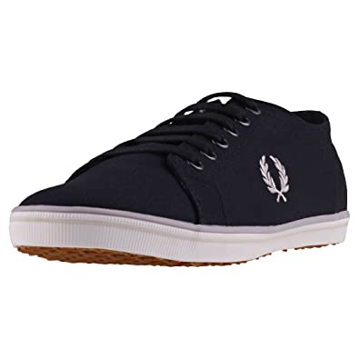 Fred Perry Kingston Black Twill Black Kingston B6259U220 Turnschuhe ff2e20