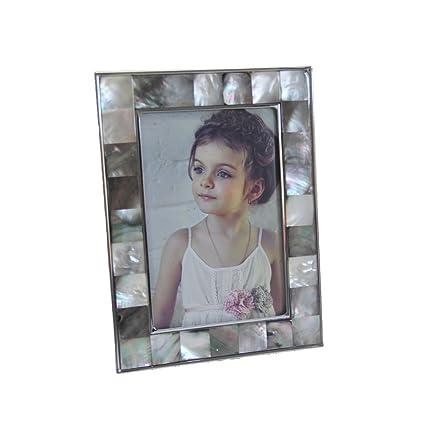 Fulemay Marcos para labios negros marco 5x7 Marcos para fotos de alta calidad Look de glamour