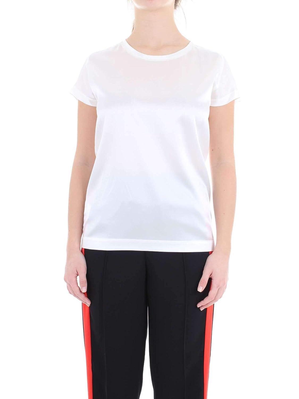 Pinko Women's 1G1419Y4FGZ10 White Silk Blouse